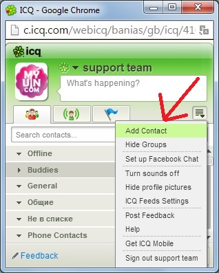 How many people are using mine ICQ number right now (anti spy guide